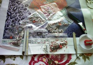Инструменты для алмазной вышивки