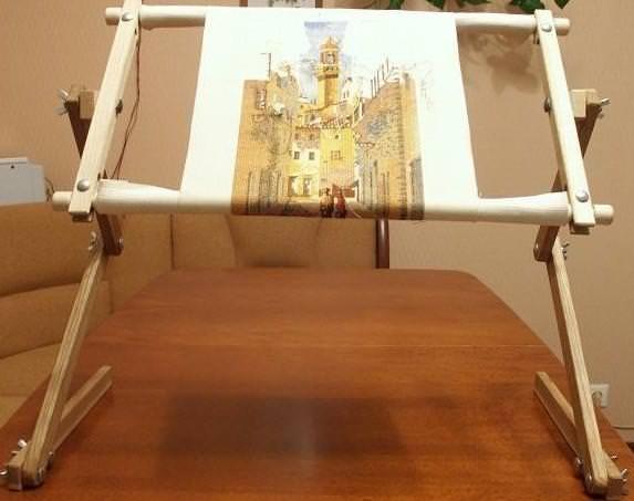 Как сделать рамку для вышивки бисером своими