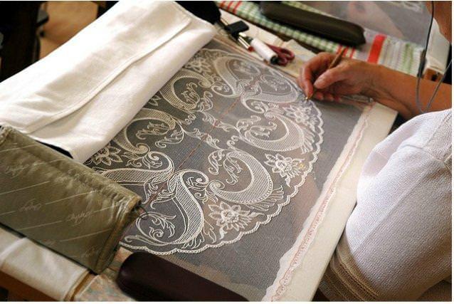 Люневильская вышивка трафареты