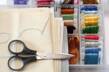 Материалы необходимые для вышивки