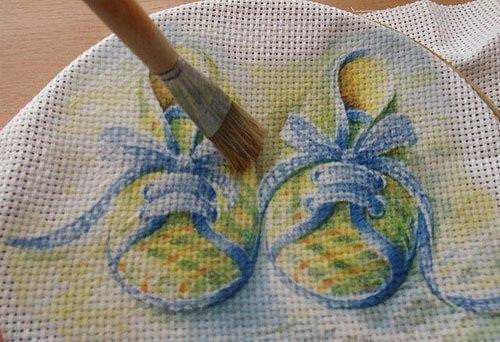 Вышивать на ткани