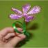 Мастер - класс по изготовлению цветов из проволоки и ниток