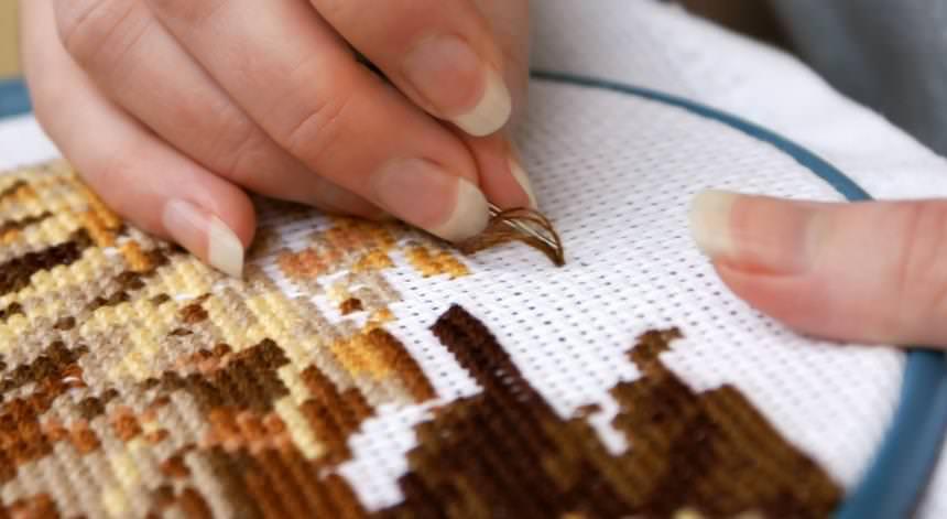 Преимущества вышивки крестиком
