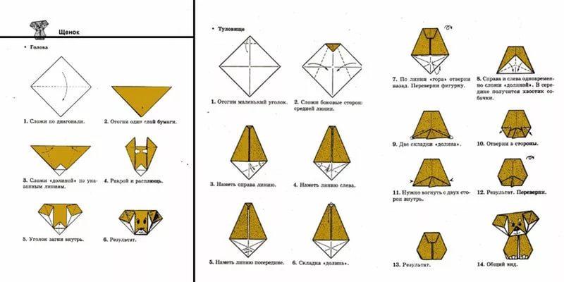 Оригами из бумаги своими руками для начинающих схемы
