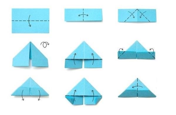 Оригами из модулей схемы для начинающих