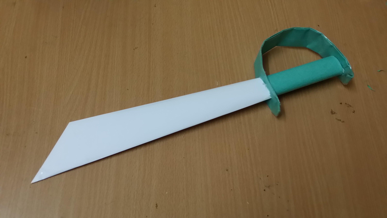 Плетение резинками меч