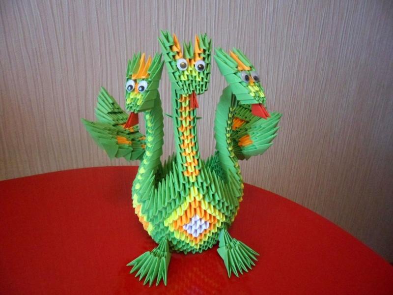 Осваиваем технику модульного оригами и его базовые элементы