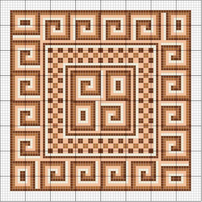 Схемы вышивки подушек крестом
