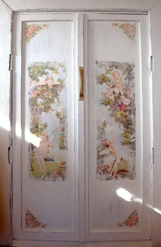 Декор межкомнатных дверей мастер класс