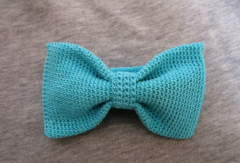 Вязание схема бабочку галстук