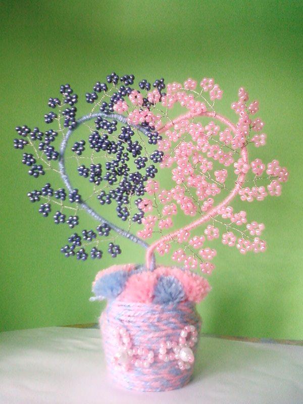 дерева любви из бисера