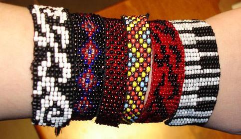 плетения фенечек из бисера