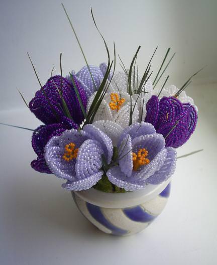 Букет цветов во французской