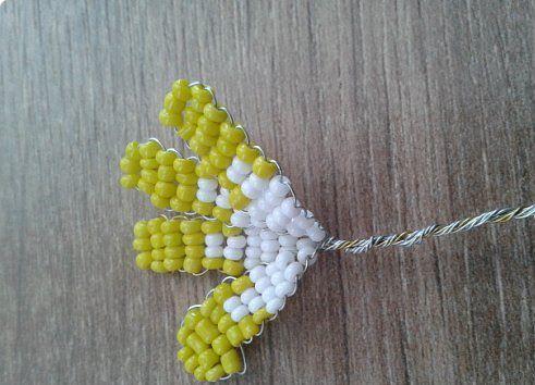 Плетение из бисера георгин