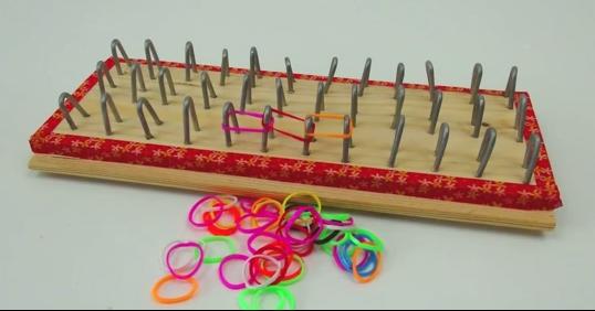 Плетение из резиночек станок своими руками
