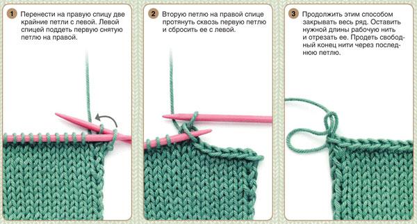 Видео резинки для Как закончить Вязание дети