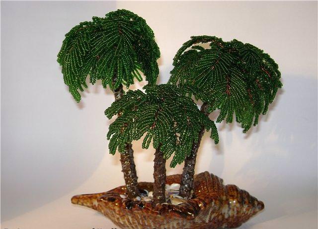 Как сделать пальмовое дерево своими руками