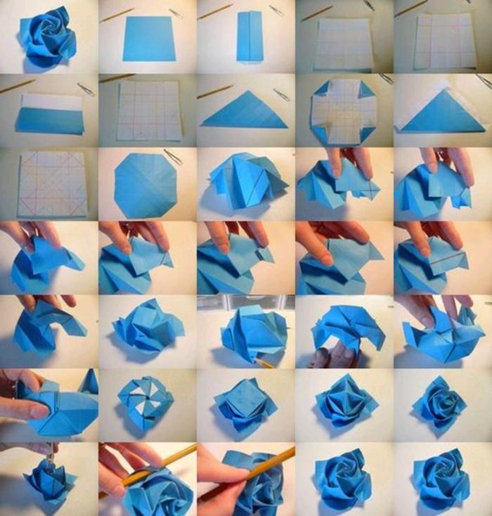 Как сделать розы из оригами своими руками поэтапно
