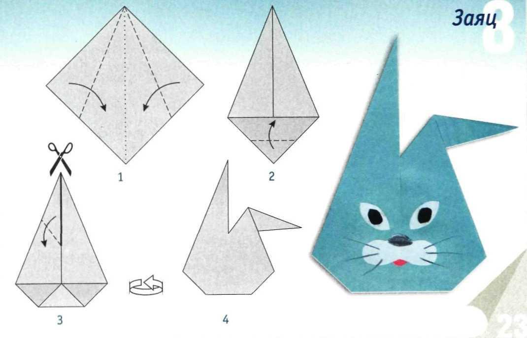 Как сделать из бумаги животных не оригами 743