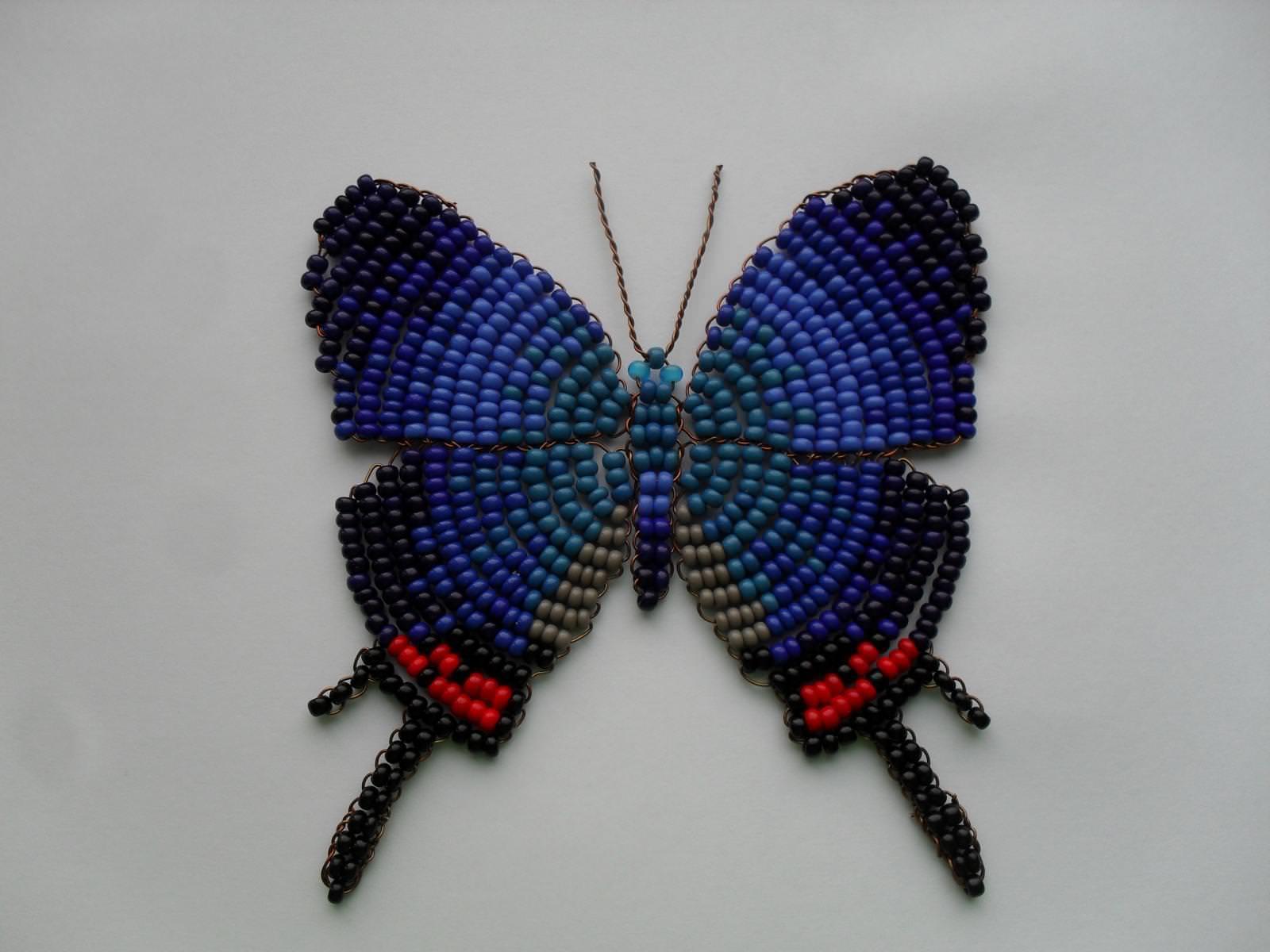 Фото бисер плетение схема