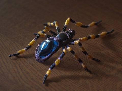 Мастер-класс по плетению паука