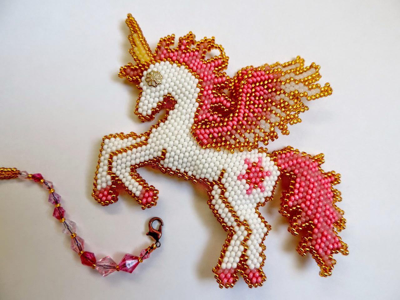 Плетение из бисера фигурки животных