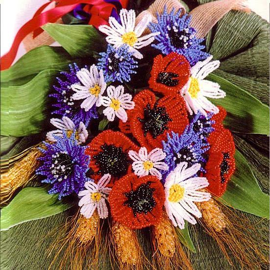 Букет полевых цветов к 8 марта
