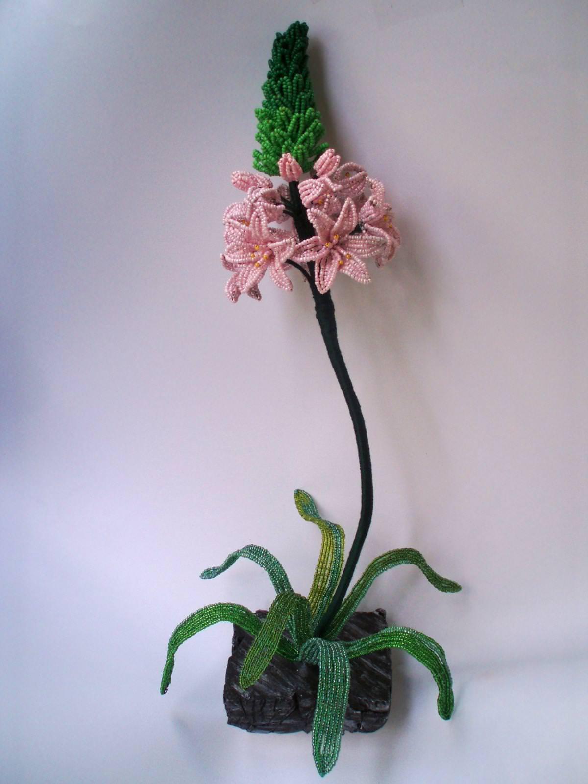 Изделия из бисера деревья цветы 186