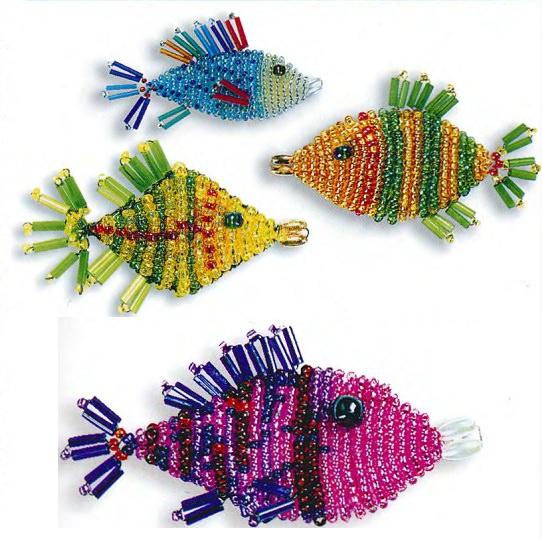 Рыбки из бисера
