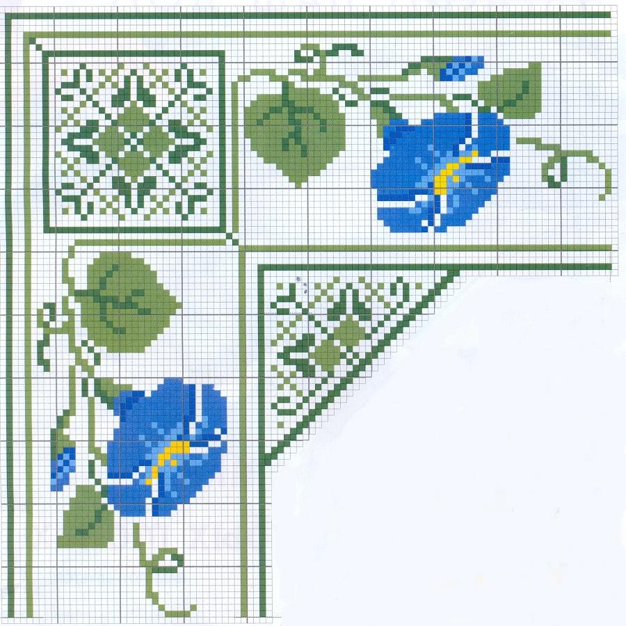 Схемы вышивки крестом в pdf формате 75