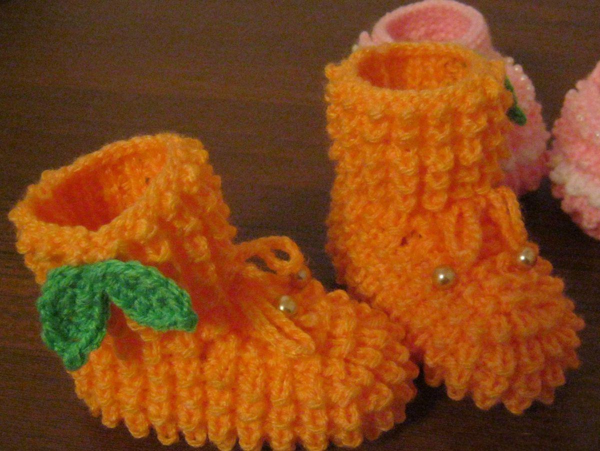 Описание вязания узора кукурузка