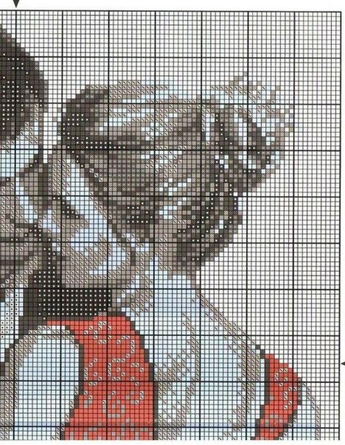 Схемы вышивок крестиком влюбленная пара