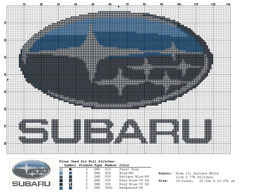 Вышивки логотипов машин