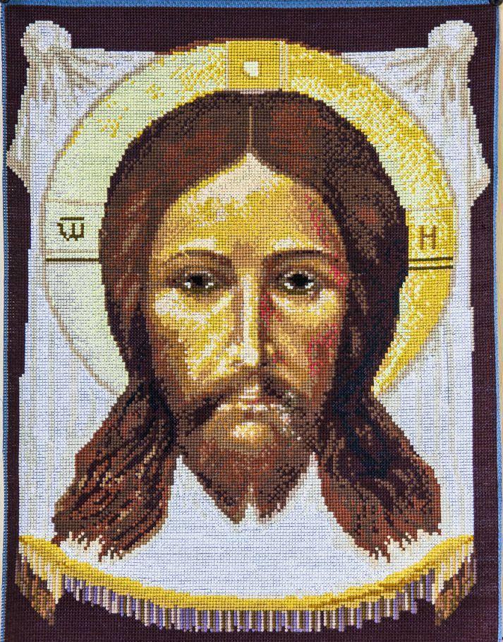 Вышивка иконы крестом