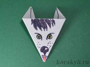 Как сделать волка для детей