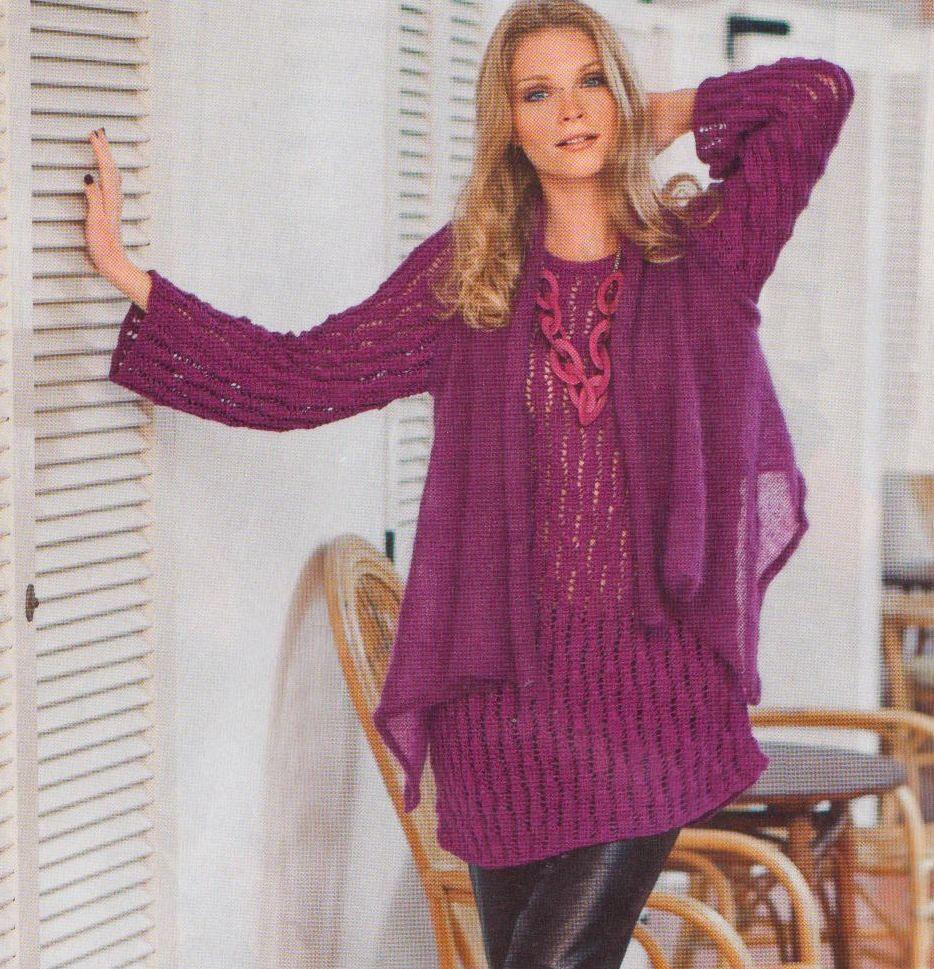 Вязание для женщин модные модели 2016 с описанием