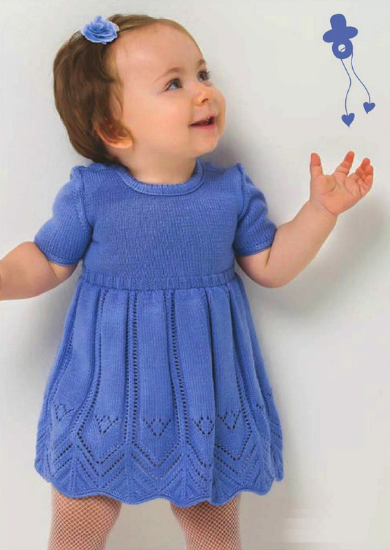 51 карточка в коллекции платье спицами для девочки пользователя