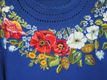 Правила вышивки по трикотажу