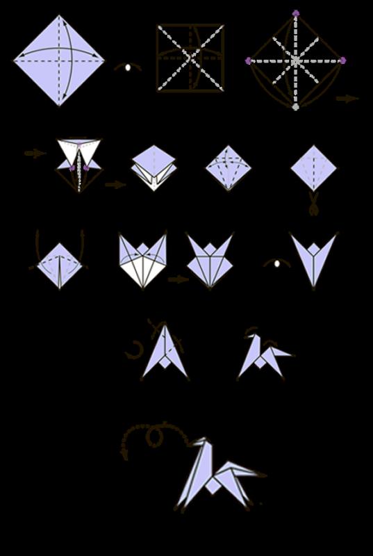 1-4-537x800 Мастерим по схеме бумажные фигурки лошади оригами