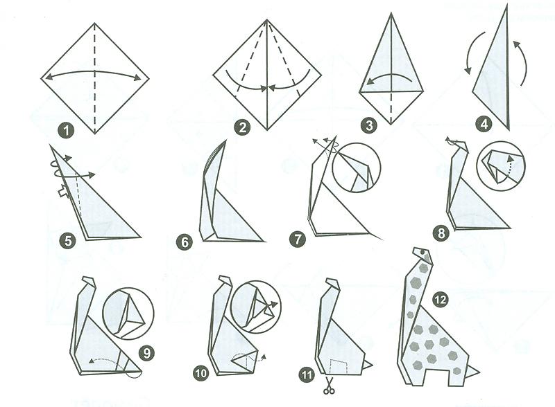 Днем рождения, оригами для начинающих картинки