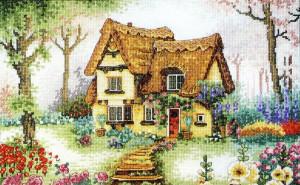 Вышитый дом