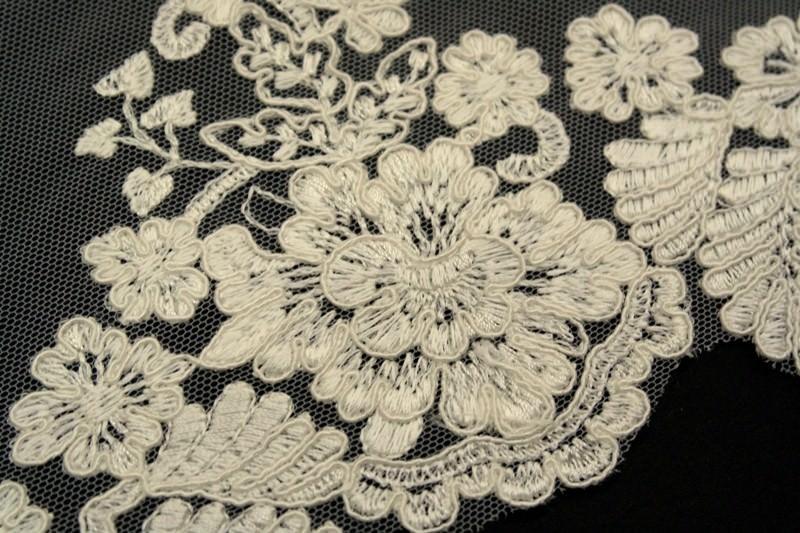 Техника филейной вышивки