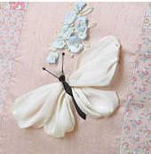 Мастер класс вышивка бабочка лентами
