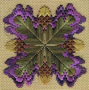 Флорентийская вышивка барджелло