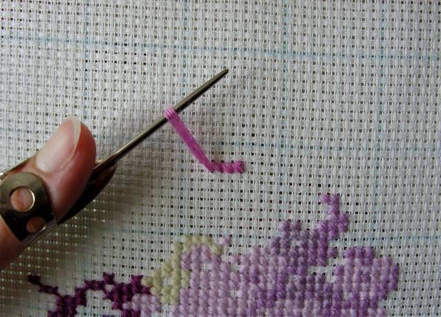 Вышивки нитью мулине крестом