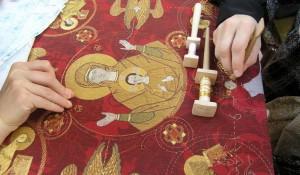 Техника золотого шитья