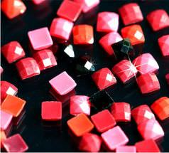 Квадратные стразы для алмазной мозаики