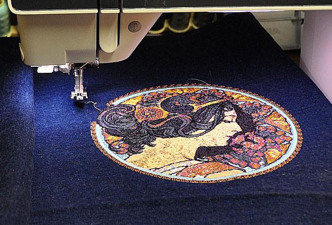 Видео уроки для начинающих по машинной вышивки