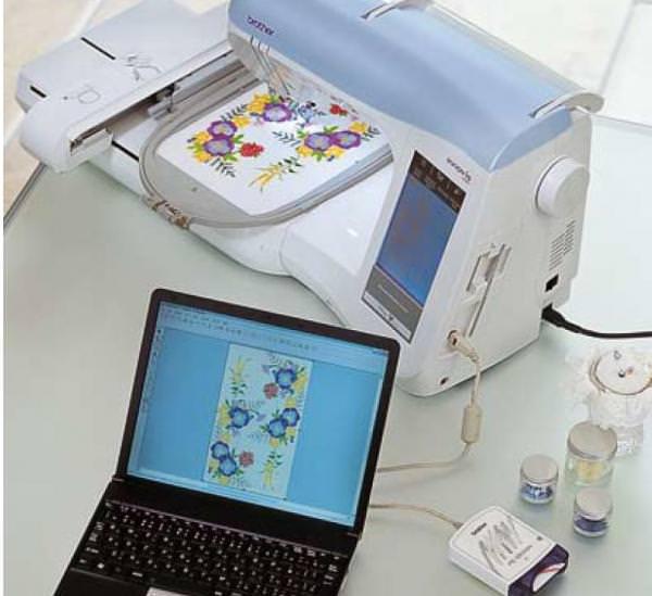 Схемы вышивки на вышивальных машинах