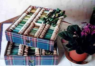 4db4954b1813 Удобный органайзер для мулине мастер-класс